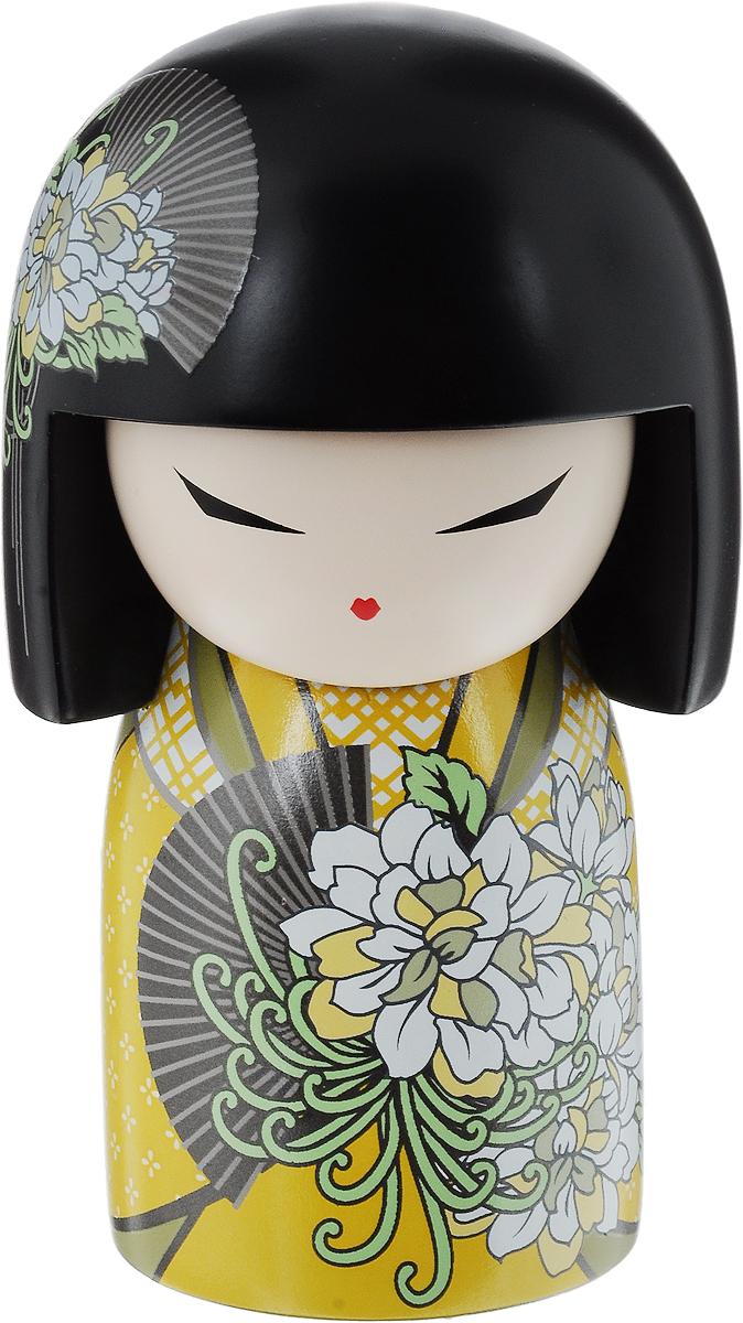 Кукла-талисман Kimmidoll Сачи (Радость). TGKFL110700023Привет, меня зовут Сачи!Я талисман радости!Мой дух обогащает и возвышает. Почитайте мой дух! И, достигая целей со страстью и энтузиазмом, вы даже простое и обычное дело можете сделать приятным и запоминающимся. Это традиционная японская кукла - Кокеши! (японская матрешка). Дарится в знак дружбы, симпатии, любви или по поводу какого-либо приятного события! Считается, что это не только приятный сувенир, но и талисман, который приносит удачу в делах, благополучие в доме и гармонию в душе!