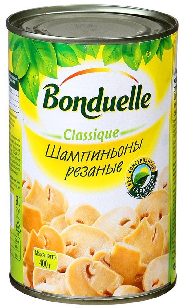 где купить  Bonduelle шампиньоны резаные, 400 г  по лучшей цене