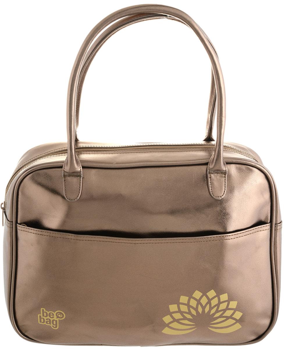 Herlitz Сумка школьная Be Bag Fashion цвет золотистыйKS16-SB-001Школьная сумка Herlitz Be Bag. Fashion выполнена из прочного износостойкого материала. Сумка состоит из одного отделения и закрывается на пластиковую застежку-молнию. Внутри расположены два открытых накладных кармашка. Лицевая часть сумки дополнена большим карманом на молнии. Изделие имеет две прочные ручки. Благодаря удобному размеру ручек, сумку можно повесить на плечо, на локоть или носить в руках. Прочная и вместительная сумка Be Bag смотрится элегантно в любой ситуации. Идеальный выбор для школы, университета или досуга.
