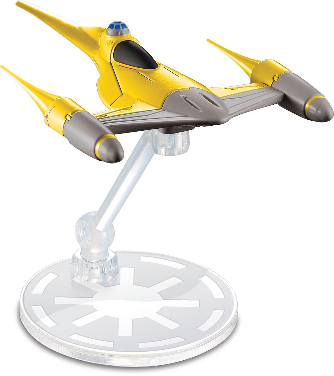Hot Wheels Star Wars Космический корабль Naboo N-1 Starfighter - Транспорт, машинки