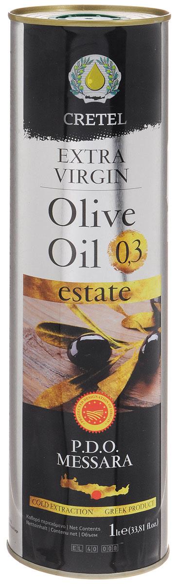 Cretel Extra Virgin масло оливковое P.D.O. Messara, 1 л16012Estate P.D.O. Messara (Protected designation of origin) — это уникальный объект авторского права, который закрепляет за производителем права гарантированный регион производства, несет на упаковке информацию о конкретном районе производства, в нашем случае, в районе Мессара, на острове Крит, Греция. Оливки были выращены, собраны и отжаты в масло полностью в определенном географическом регионе. Весь процесс изготовления этого масла, как говорилось выше, производится на месте сбора сырья. Маркировка дает гарантию потребителю, что масло не является ни в коем случае смесью масел. Один из главных показателей качества оливкового масла – кислотность, в оливковом масле Cretel Extra Virgin она не превышает0,3%.