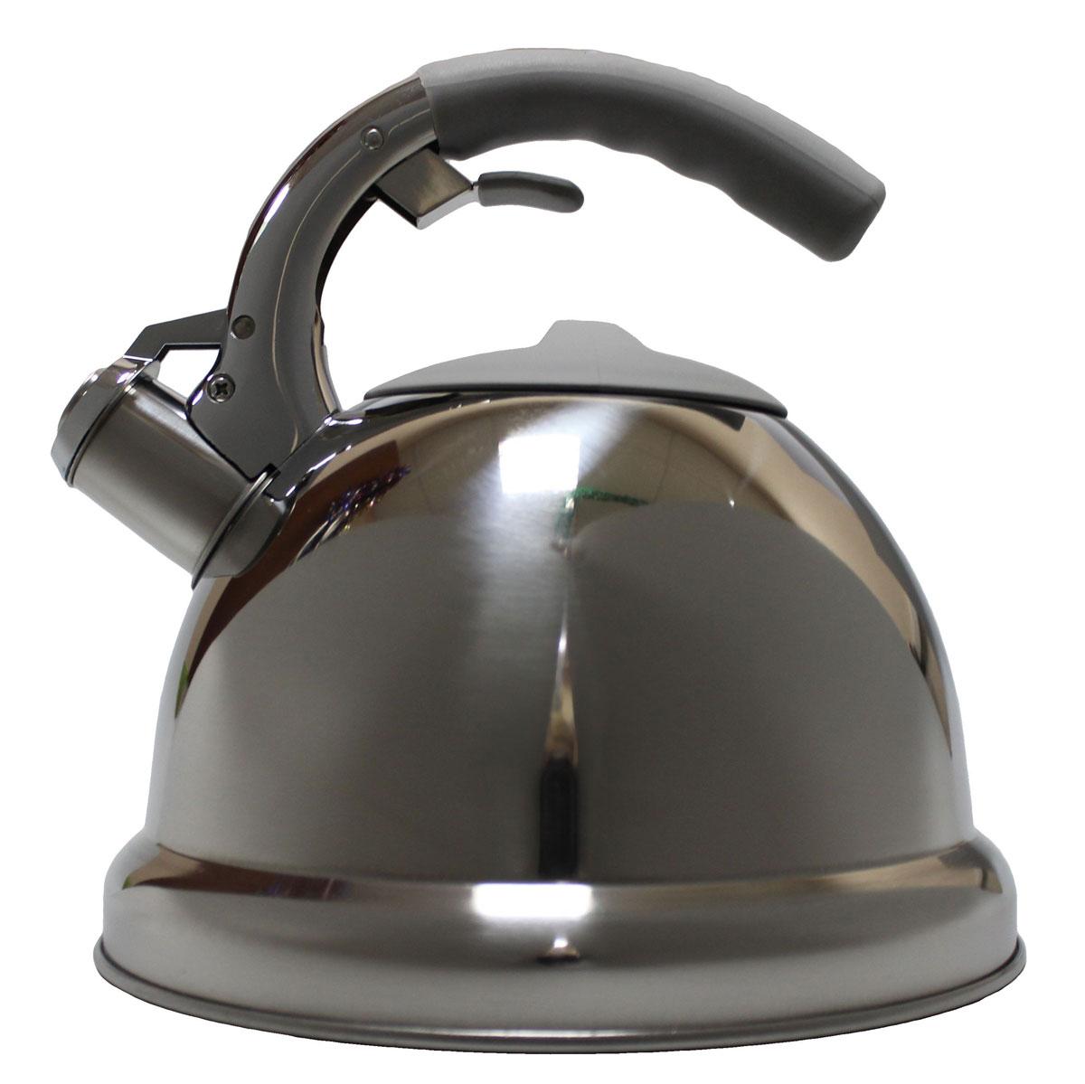 Чайник Vetta Вена, со свистком, 3 л54 009312Зеркальный чайник, объемом 3,0 л. Изготовлен из нержавеющей стали. Имеет свисток, который сообщит о закипании воды. Отлично подходит для индукционных варочных поверхностей.