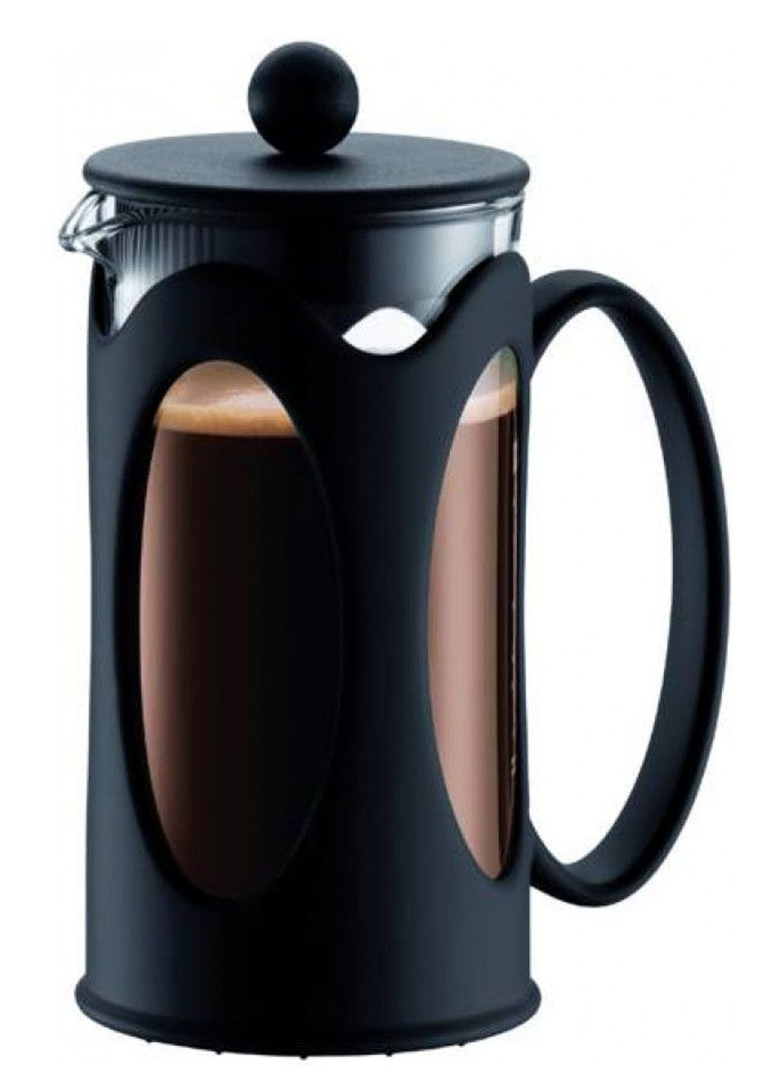Кофейник Vetta, 600 мл850060Кофейник Vetta используется для заваривания кофе, крупнолистового чая, травяных сборов. Изготовлен из высококачественной нержавеющей стали и упрочненного термостойкого стекла, выдерживающего высокую температуру, что придает ему надежность и долговечность. Пластиковые детали выполнены из прочного нетоксичного материала.