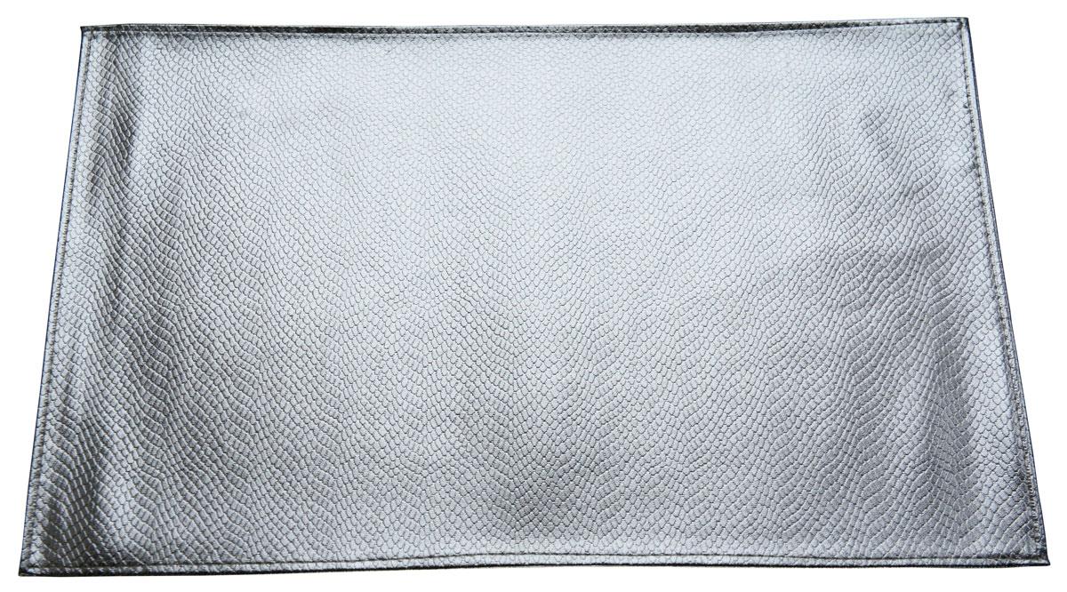 """Набор сервировочных салфеток Gift'n'Home """"Кожа Серебро"""", 30 х 45 см, 2 шт"""