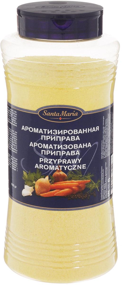 Santa Maria Ароматизированная приправа, 1 кг0120710Ароматизированная приправа Santa Maria используется вместо соли при приготовлении бульонов и супов, горячих соусов. Можно использовать при варке риса, каш и макаронных изделий.Уважаемые клиенты! Обращаем ваше внимание, что полный перечень состава продукта представлен на дополнительном изображении.