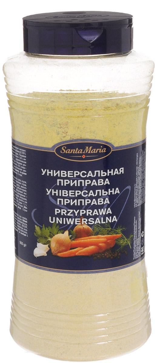 Santa Maria Универсальная приправа, 900 г26834Универсальная приправа Santa Maria придает блюдам насыщенный аромат овощей и трав. Подходит для приготовления бульона, супов, соусов, рыбных, куриных, мясных и овощных блюд. Используйте вместо соли при приготовлении любых блюд.Уважаемые клиенты! Обращаем ваше внимание, что полный перечень состава продукта представлен на дополнительном изображении.