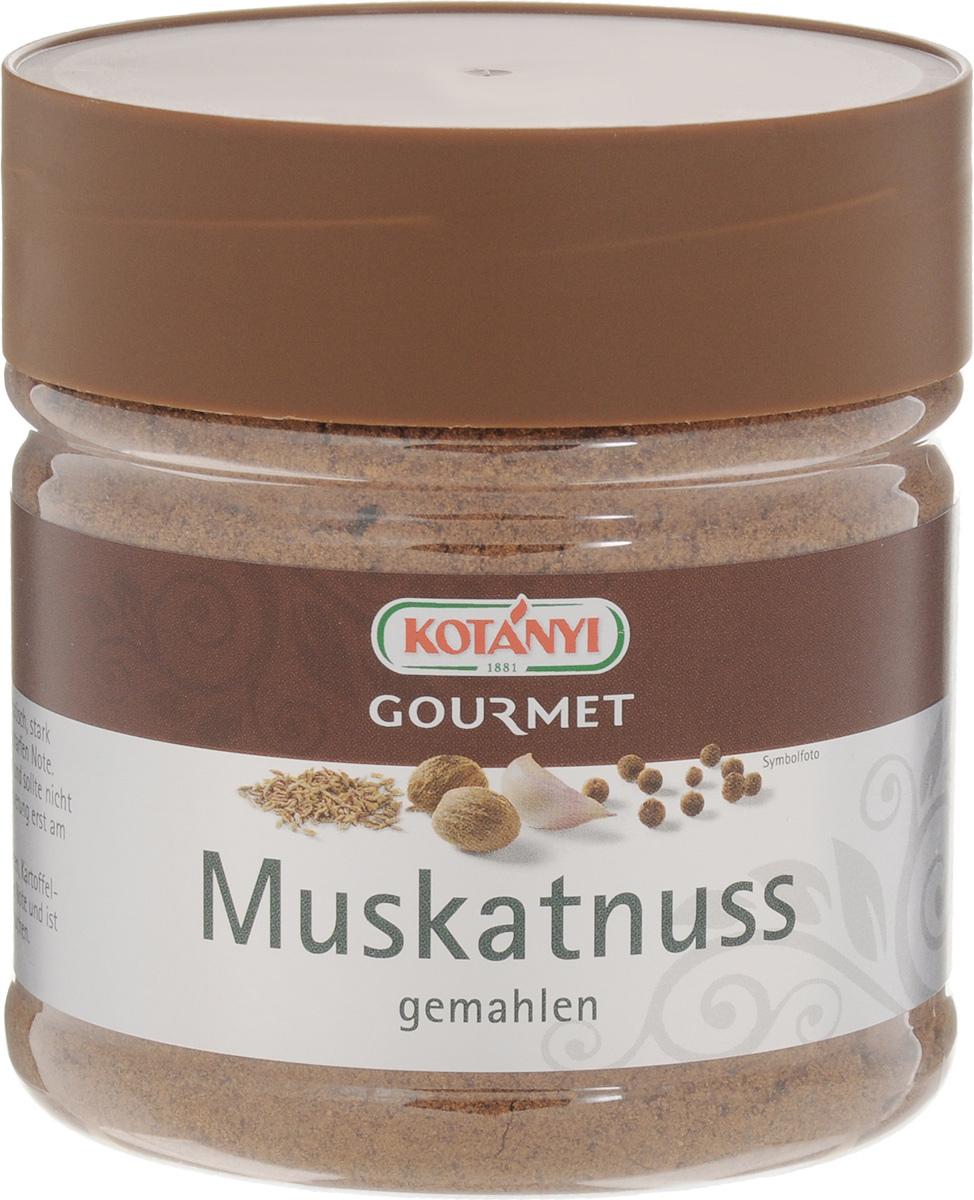 Kotanyi Мускатный орех молотый, 190 г0120710Мускатный молотый орех Kotanyi прекрасно подходит для приготовления соусов (в особенности для соуса бешамель), овощей, риса, блюд из фарша, сладких блюд.