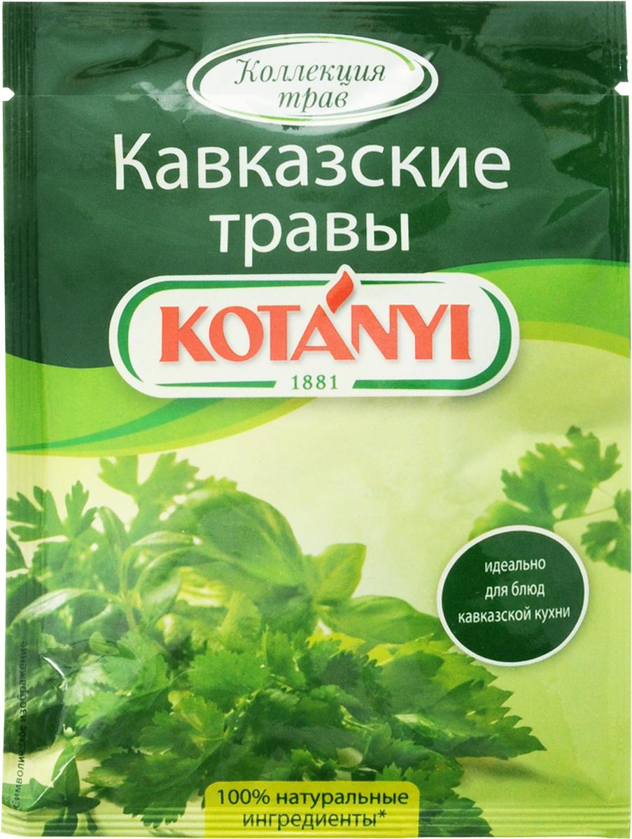 Kotanyi Приправа Кавказские травы, 9 г0120710Все началось в 1881 году, когда Януш Котани основал мельницу по переработке паприки. Позже добавились лучшие специи и пряности со всего света. Как в те времена, так и сегодня. Используются только самые качественные ингредиенты для создания особого вкуса Kotanyi. Прикоснитесь и вы к источнику такого вдохновения!Отличительной особенностью кавказской кухни является использование большого количества ароматных трав и специй, произрастающих в горах Кавказа. Именно они придают блюдам пикантный пряный вкус, благодаря которому кавказская кухня пользуется большой любовью и популярностью.Уважаемые клиенты! Обращаем ваше внимание, что полный перечень состава продукта представлен на дополнительном изображении.