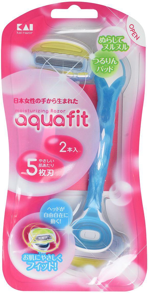 Kai Бритвенный станок женский  Aquafit , одноразовый, 5 лезвий - Женские средства для депиляции и бритья