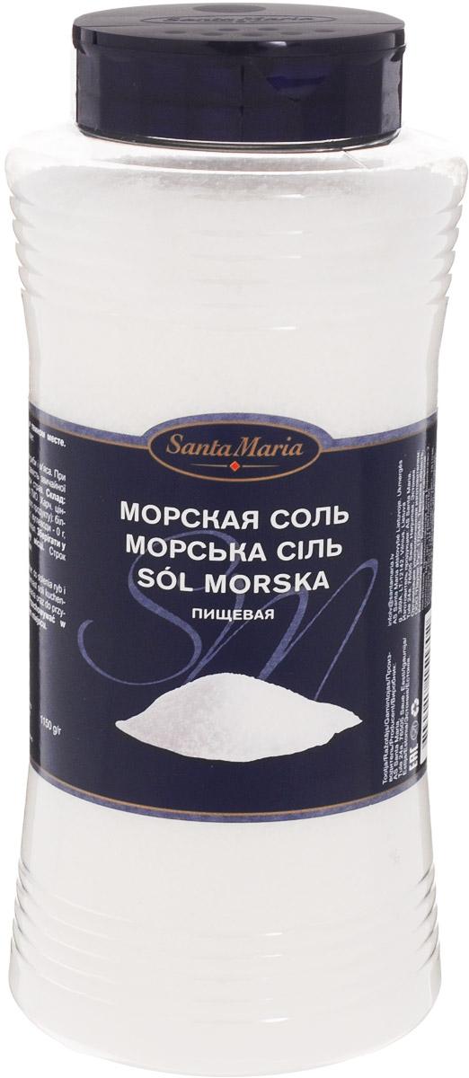 Santa Maria Соль морская пищевая, 1,15 кг733301Соль морская пищевая Santa Maria используется для засолки рыбы и мяса, а также вместо обычной соли.