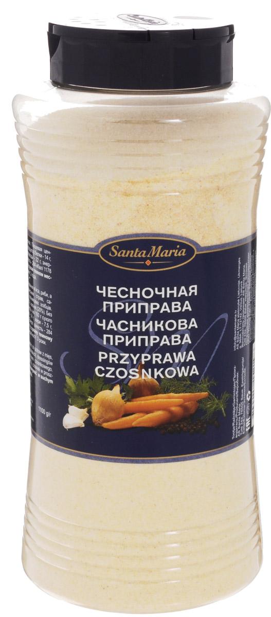 Santa Maria Чесночная приправа, 1,1 кг15173Чесночная приправа Santa Maria имеет мягкий вкус и аромат чеснока. Подходит для приготовления мясных, рыбных и вегетарианских блюд, салатных соусов.