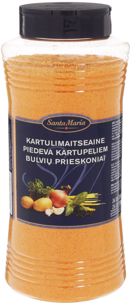 Santa Maria Приправа к картофелю, 850 г0120710Приправа Santa Maria придает блюдам из картофеля нежный пряный аромат и насыщенный вкус. Подходит к жареному, запеченному или тушеному картофелю, мясным и вегетарианским блюдам.Уважаемые клиенты! Обращаем ваше внимание, что полный перечень состава продукта представлен на дополнительном изображении.
