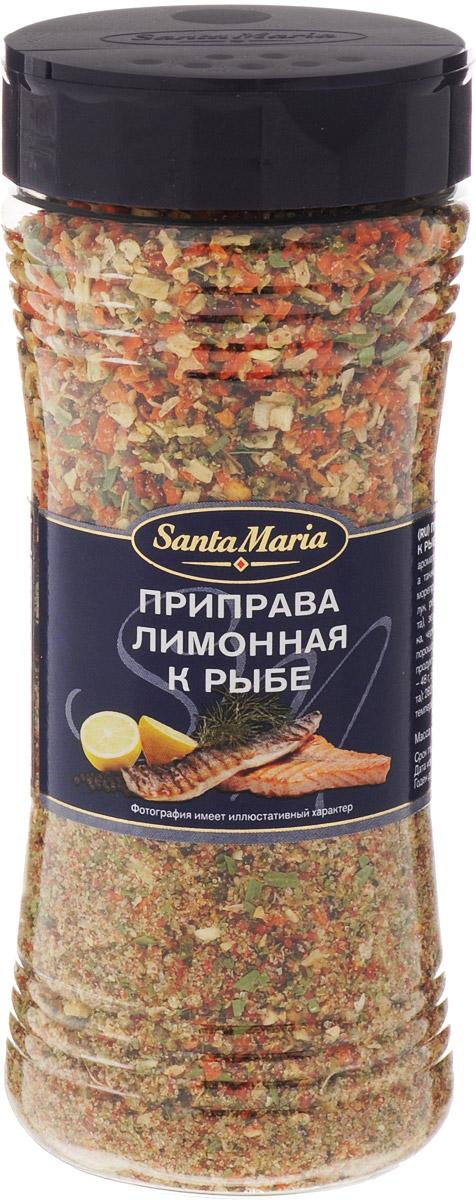 Santa Maria Лимонная приправа к рыбе, 230 г0120710Приправа Santa Maria с насыщенным вкусом и ароматом лимона. Прекрасно подходит к рыбе, а также к овощам и салатам, например, из морепродуктов.Уважаемые клиенты! Обращаем ваше внимание, что полный перечень состава продукта представлен на дополнительном изображении.