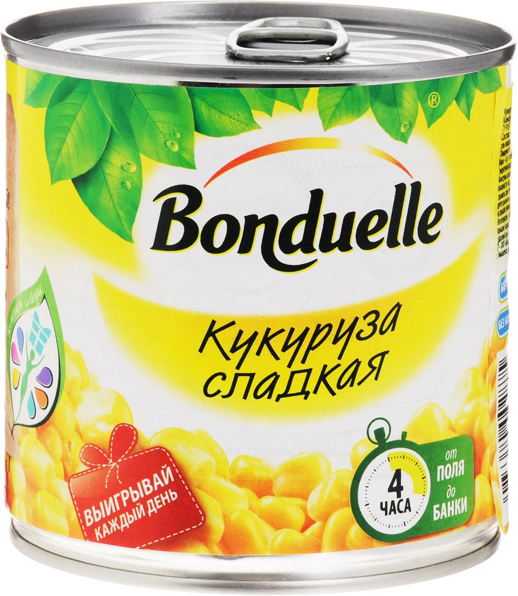 Bonduelle кукуруза сладкая, 340 г0120710Настоящая классика Bonduelle - продукты, давно знакомые и востребованные, а значит, их качество проверено временем и подтверждено любовью миллионов хозяек и поваров. Без них невозможно представить ни один стол нашей страны, а особенно праздничное меню, где обязательно имеются салаты с зеленым горошком и кукурузой.Уважаемые клиенты! Обращаем ваше внимание, что полный перечень состава продукта представлен на дополнительном изображении.