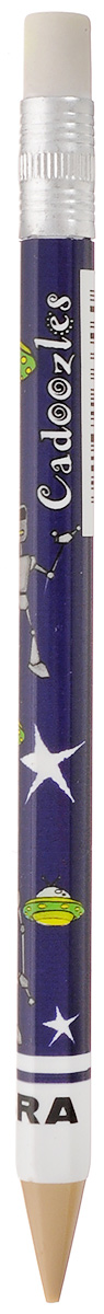 Zebra Карандаш чернографитный Fun цвет корпуса темно-фиолетовыйFS-00102Чернографитный карандаш Zebra Fun идеален для письма и черчения.Корпус карандаша дополнен ластиком. Мягкое комфортное письмо и тонкие линии при написании принесут вам максимум удовольствия. Компактный размер карандаша идеально подходит для маленьких детских рук. Яркая оригинальная расцветка выделит карандаш среди других канцелярских предметов на столе вашего ребенка.