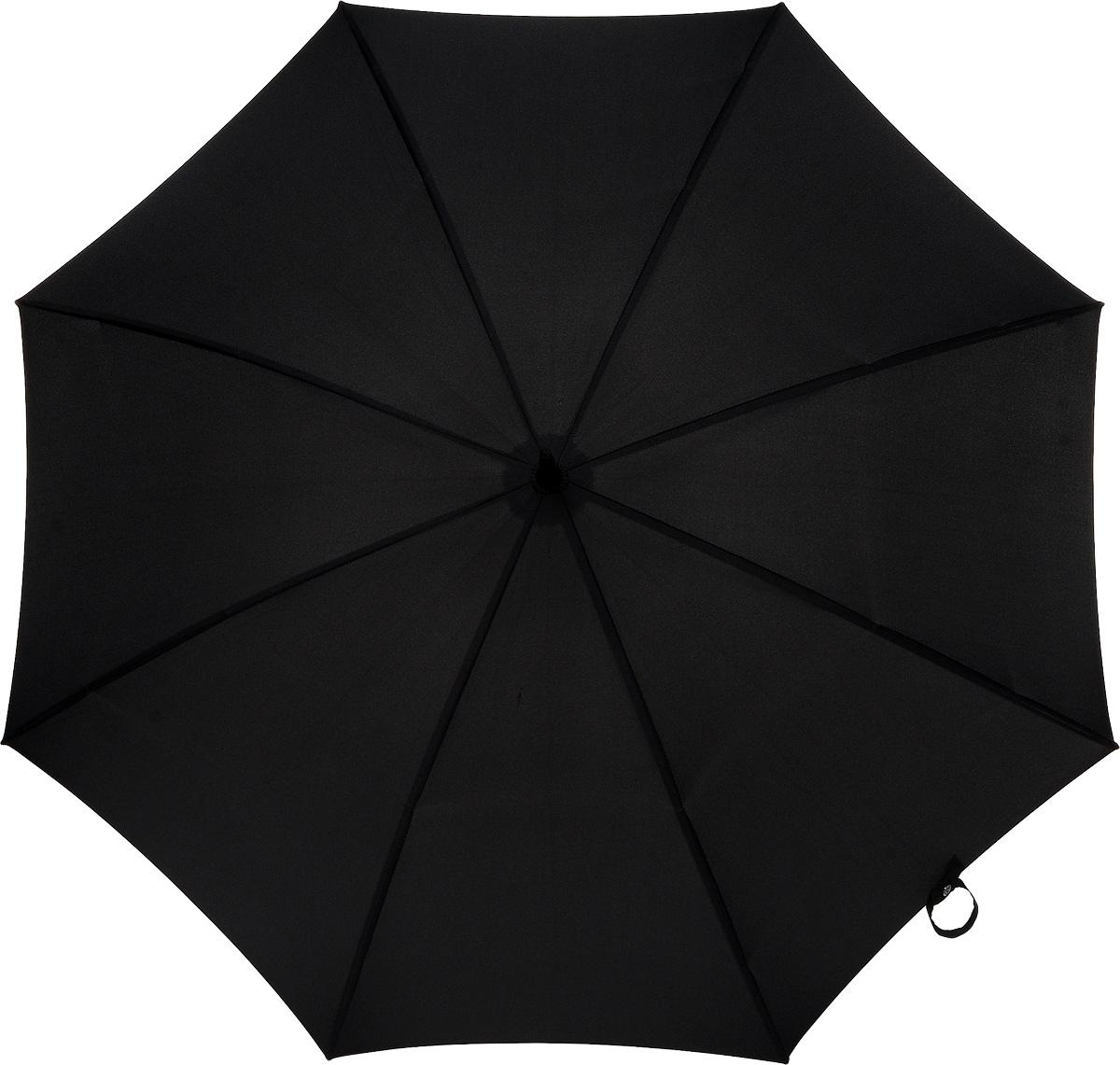 Зонт-трость мужской Huntsman, механический, цвет: черныйП300020005-20Стильный механический зонт-трость Huntsman даже в ненастную погоду позволит вам оставаться элегантным. Усиленный каркас зонта выполнен из 8 двойных спиц из фибергласса, стержень изготовлен из стали. Купол зонта выполнен из прочного полиэстера черного цвета. Рукоятка закругленной формы разработана с учетом требований эргономики и выполнена из дерева. Зонт имеет механический тип сложения: купол открывается и закрывается вручную до характерного щелчка.Такой зонт не только надежно защитит вас от дождя, но и станет стильным аксессуаром. Характеристики:Материал: полиэстер, сталь, фибергласс, дерево. Диаметр купола: 106 см.Цвет: черный. Длина стержня зонта: 78 см. Длина зонта (в сложенном виде): 90 см.Вес: 620 г.Артикул:G813 3F001.