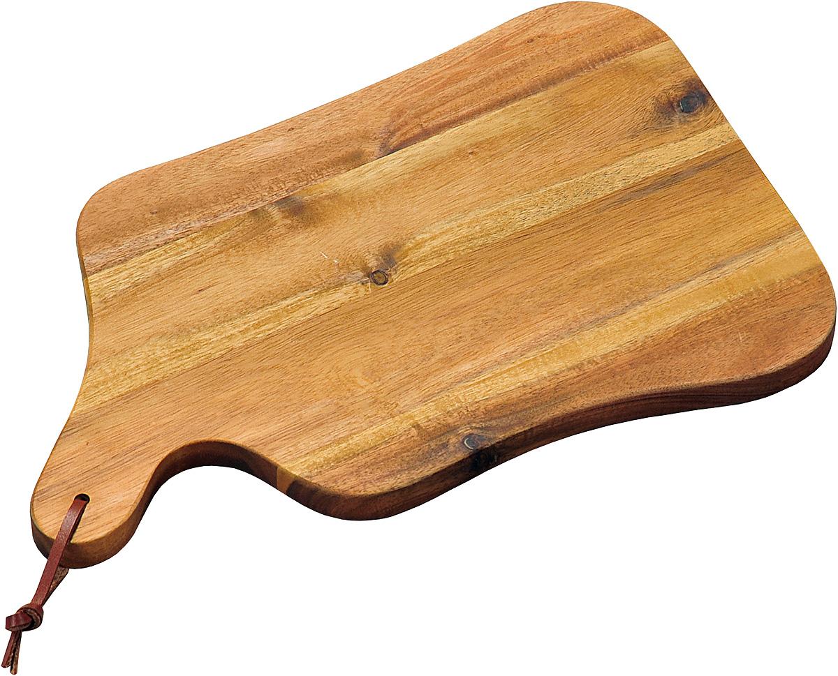 Доска разделочная Kesper, 35 х 22 х 1,8 см. 2860-054 009312Доска разделочная Kesper изготовлена из экологически чистого материала - дерева акации. Отлично подходит для нарезки пищи. Обладает высокой износостойкостью. Изделие оснащено удобной ручкой с петелькой для подвешивания. Функциональная и простая в использовании разделочная доска Kesper прекрасно впишется в интерьер любой кухни и прослужит вам долгие годы. Размер доски: 35 х 22 х 1,8 см.