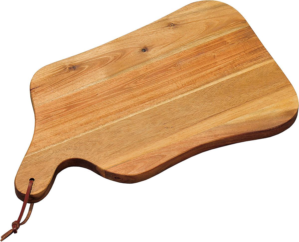 Доска разделочная Kesper, 37,5 х 23 х 1,8 см. 2860-1FS-91909Доска изготовлена из экологически чистого материала, дерево акация. Отлично подходит для нарезки пищи. Обладает высокой износостойкостью. Доска имеет удобную ручку.
