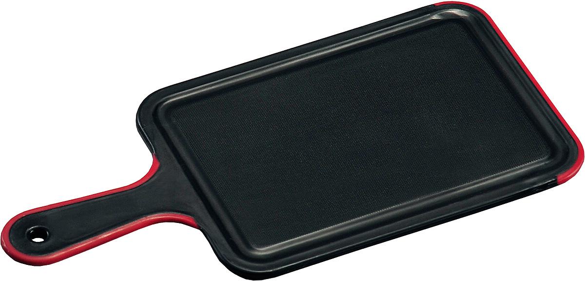 Доска разделочная Kesper, с ручкой, 33,5 х 16,5 х 0,5 см. 3091-0115510Доска разделочная с ручкой, изготовленная из пищевого пластика, займет достойное место среди аксессуаров на вашей кухне. Она прекрасно подойдет для нарезки любых продуктов. Доска устойчива к деформации и высоким температурам.