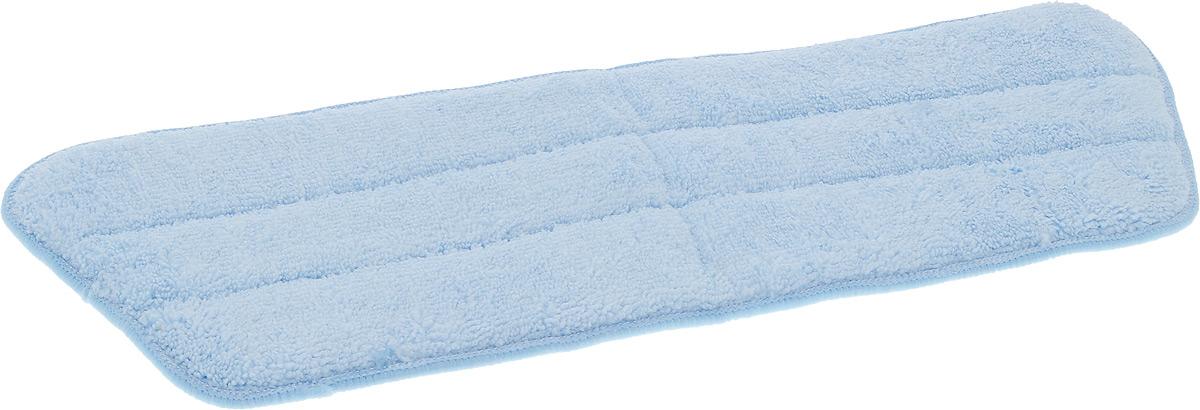 Насадка для швабры MONYA, из микрофибры97526Насадка для швабры MONYA предназначена для сухой и влажной уборки любых видов напольных покрытий: кафель, паркет, ламинированная доска, линолеум. Насадка выполнена из микрофибры, легко собирает крупный мусор и притягивает мелкие частицы пыли и грязь. Насадка предназначена для швабры с лентой-липучкой.