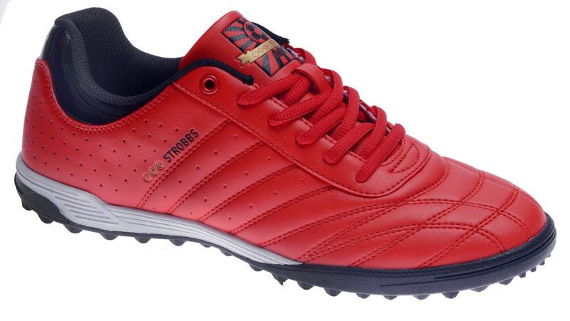 Бутсы мужские Strobbs, цвет: красный. C2436-11. Размер 41