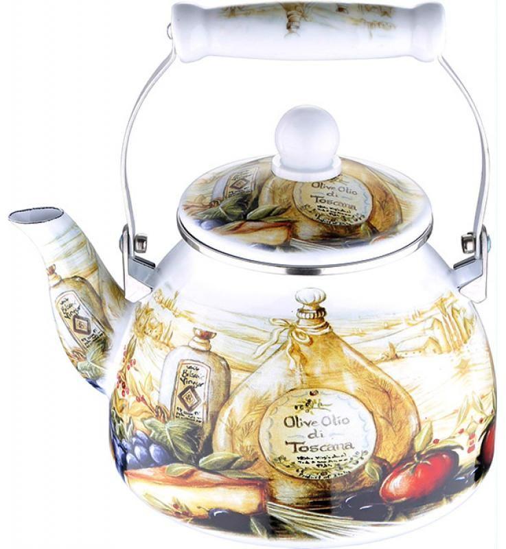 Чайник эмалированный Wellberg, 2,6 л. 3432 WB54 009312Чайник эмалированный Wellberg, 2,6 л. 3432 WB