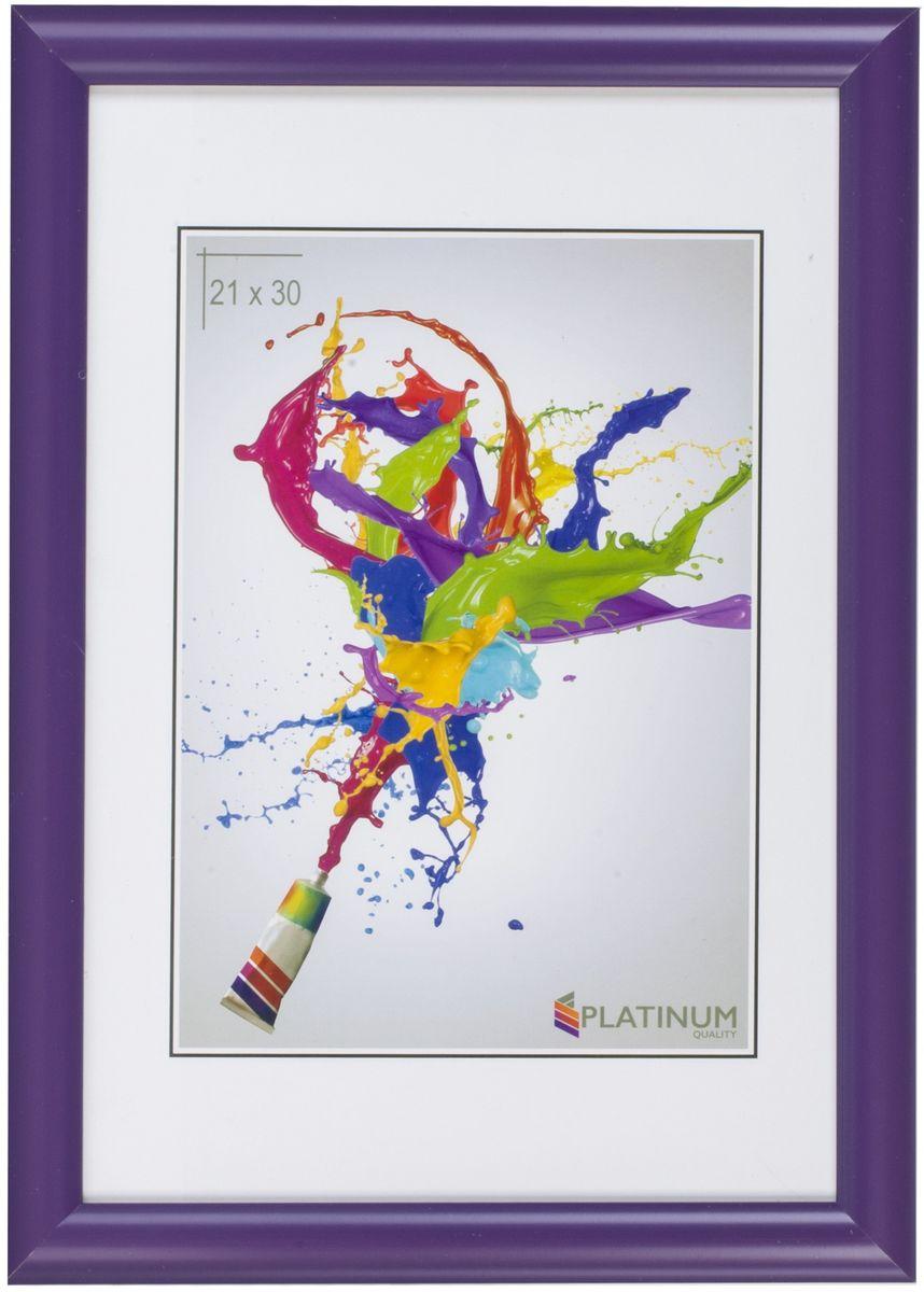 Фоторамка Platinum Милан, цвет: фиолетовый, 30 x 40 смPlatinum 8020-1 АРОНА-БЕЛЫЙ 21x30Фоторамка Platinum выполнена в классическом стиле из пластика и стекла, защищающего фотографию. Оборотная сторона рамки оснащена специальной ножкой, благодаря которой ее можно поставить на стол или любое другое место в доме или офисе. Также изделие дополнено двумя специальными петлями для подвешивания на стену.Такая фоторамка поможет вам оригинально и стильно дополнить интерьер помещения, а также позволит сохранить память о дорогих вам людях и интересных событиях вашей жизни.