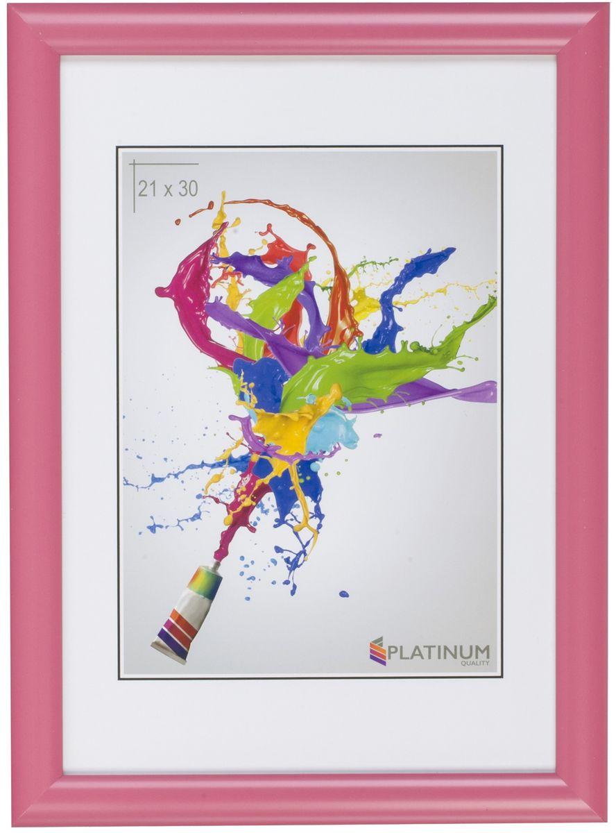 Фоторамка Platinum Милан, цвет: розовый, 21 x 30 смPlatinum 8020-3 АРОНА-БОРДОВЫЙ 21x30Фоторамка Platinum выполнена в классическом стиле из пластика и стекла, защищающего фотографию. Оборотная сторона рамки оснащена специальной ножкой, благодаря которой ее можно поставить на стол или любое другое место в доме или офисе. Также изделие дополнено двумя специальными петлями для подвешивания на стену.Такая фоторамка поможет вам оригинально и стильно дополнить интерьер помещения, а также позволит сохранить память о дорогих вам людях и интересных событиях вашей жизни.