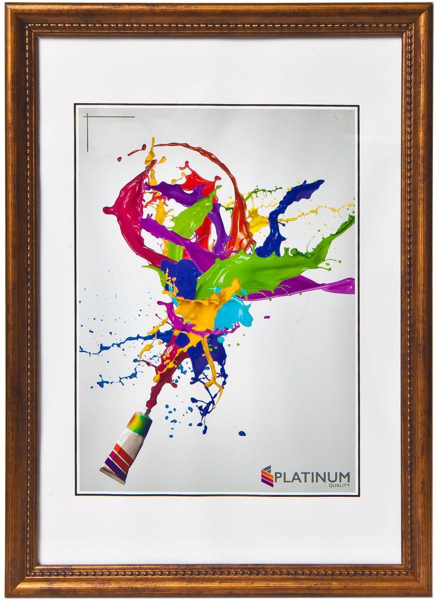 Фоторамка Platinum Фано, цвет: бронзовый, 10 x 15 смБрелок для ключейФоторамка Platinum выполнена в классическом стиле из пластика и стекла, защищающего фотографию. Оборотная сторона рамки оснащена специальной ножкой, благодаря которой ее можно поставить на стол или любое другое место в доме или офисе. Также изделие дополнено двумя специальными петлями для подвешивания на стену.Такая фоторамка поможет вам оригинально и стильно дополнить интерьер помещения, а также позволит сохранить память о дорогих вам людях и интересных событиях вашей жизни.