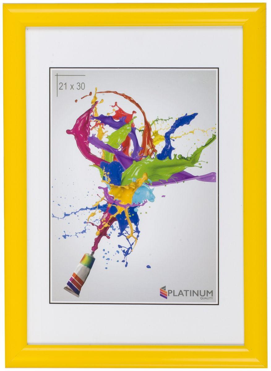 Фоторамка Platinum Милан, цвет: желтый, 30 x 40 смPlatinum JW25-6 АНЦИО-ЗОЛОТОЙ 10x15Фоторамка Platinum выполнена в классическом стиле из пластика и стекла, защищающего фотографию. Оборотная сторона рамки оснащена специальной ножкой, благодаря которой ее можно поставить на стол или любое другое место в доме или офисе. Также изделие дополнено двумя специальными петлями для подвешивания на стену.Такая фоторамка поможет вам оригинально и стильно дополнить интерьер помещения, а также позволит сохранить память о дорогих вам людях и интересных событиях вашей жизни.