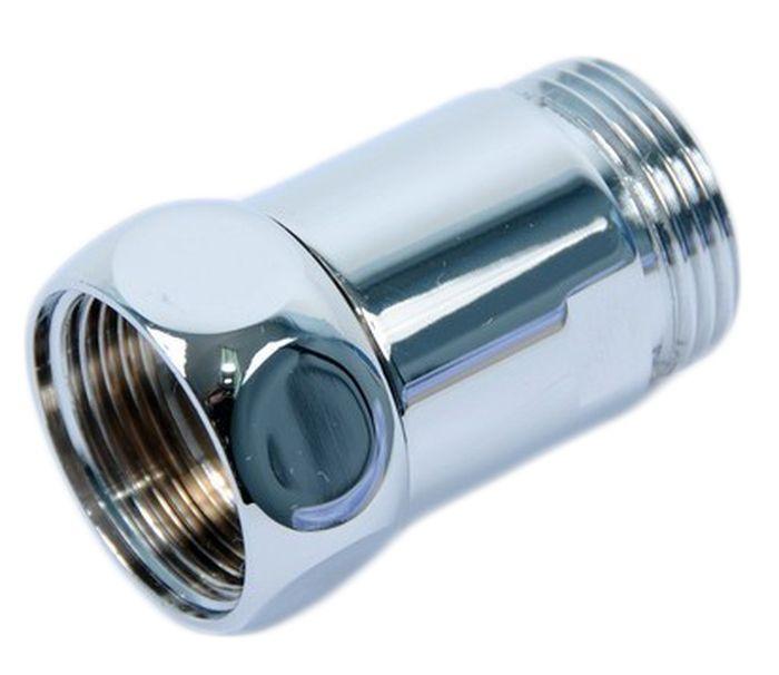 Соединение прямое Smart Group Гайка-Штуцер, 1x3/4, 2 шт4680287513972Размер: 1 х 3/4.Соединение прямое гайка-штуцер.Материал корпуса: хромированная латунь. Материал кольца, прокладки: силикон или EPDM. Среда применения: вода. Рабочая температура: до 100°С. Рабочее давление: до 10 бар.