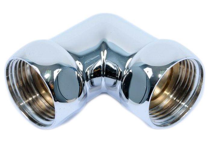 Соединение угловое Smart Group Гайка-Гайка, 1x1, 2 штSWH RE15 50 VРазмер: 1 х 1.Соединение угловое гайка-гайка.Материал корпуса: хромированная латунь. Материал кольца, прокладки: силикон или EPDM. Среда применения: вода. Рабочая температура: до 100°С. Рабочее давление: до 10 бар.