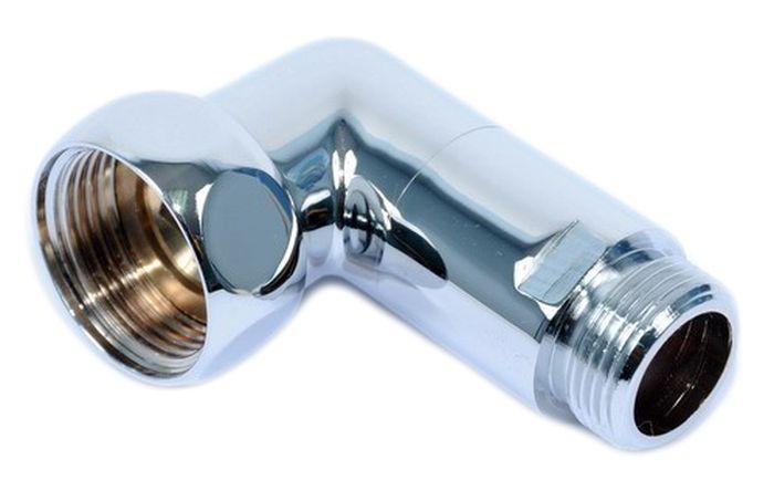 Соединение угловое Smart Group Гайка-Штуцер, 1x3/4, 2 шт1741SCS1010Размер: 1 х 3/4.Соединение угловое гайка-штуцер.Материал корпуса: хромированная латунь. Материал кольца, прокладки: силикон или EPDM. Среда применения: вода. Рабочая температура: до 100°С. Рабочее давление: до 10 бар.