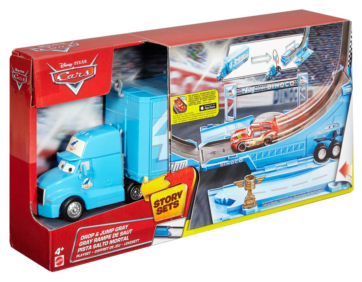 Cars Игрушечный трек Грей-грузовик