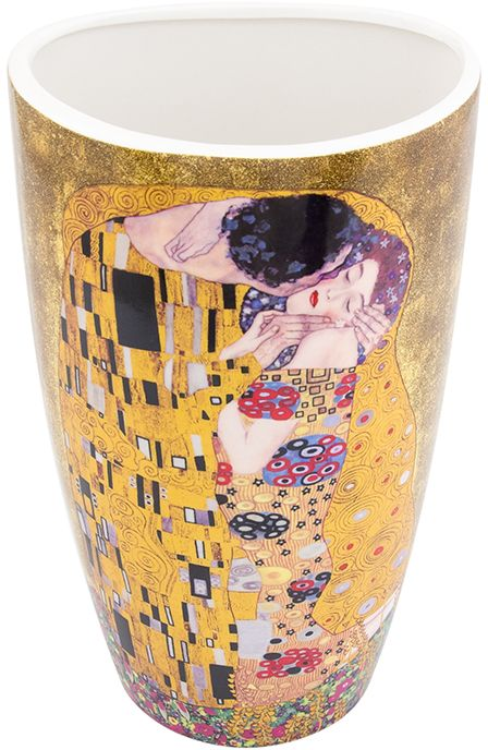 Ваза Elan Gallery Поцелуй, высота 22,5 смFS-80423Декоративная ваза станет прекрасным дополнением любого интерьера. В такой вазе любой, даже самый скромный букет будет выглядеть замечательно!Размер вазы: 13 х 10 х 22,5 см. Объем вазы: 1,5 л.