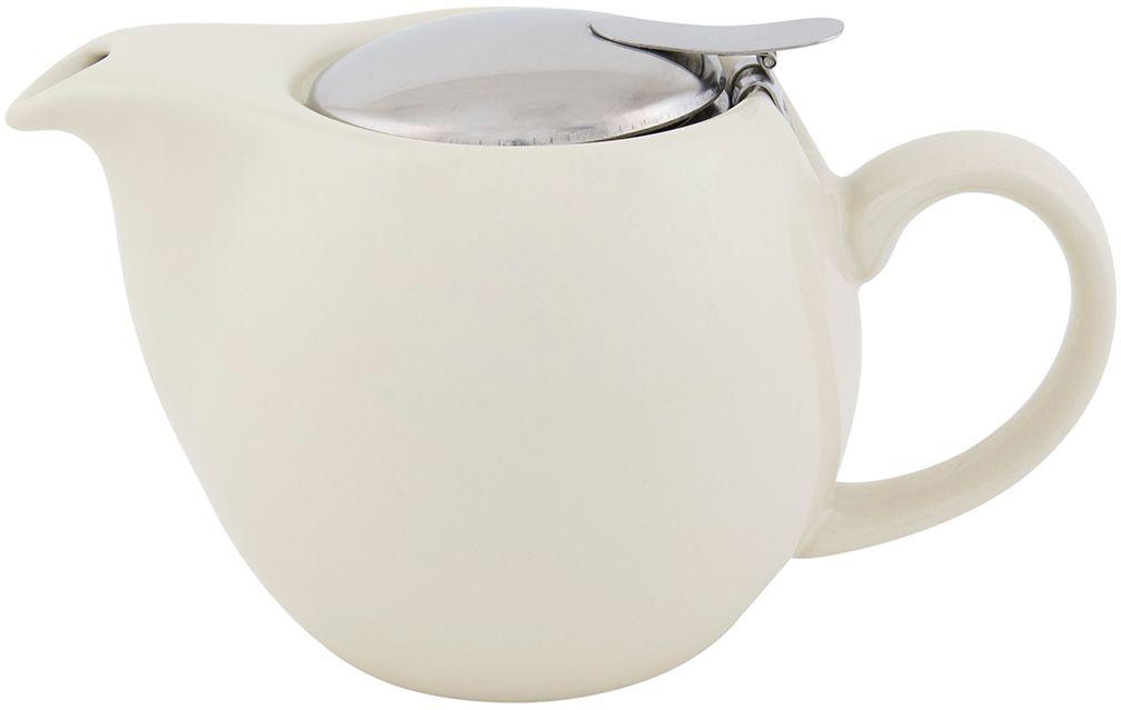 Чайник Elan Gallery, с крышкой и ситом, цвет: ванильный, 550 млVT-1520(SR)Посуда из керамики цвета Ваниль- это украшение стола и отличный подарок. Красота и уют вашего дома! Дизайн чайников проработан учитывая все подробности. Все части аккуратно скомбинированы и хорошо дополняют друг друга. Эта модель станет замечательной находкой для себя или презентом родным. Размер чайника: 17,5 х 11,5 х 10 см.Объем чайника: 550 мл.