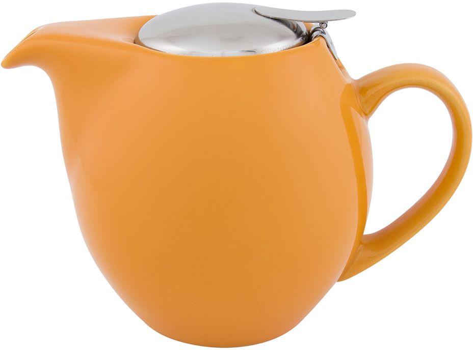 Чайник заварочный Elan Gallery, с крышкой и ситом, цвет: персиковый, 850 млVT-1520(SR)Посуда из керамики - это украшение стола и отличный подарок. Красота и уют вашего дома! Дизайн чайников проработан учитывая все подробности. Все части аккуратно скомбинированы и хорошо дополняют друг друга. Эта модель станет замечательной находкой для себя или презентом родным. Размер чайника: 18,5 х 11,5 х 13 см.Объем чайника: 850 мл.