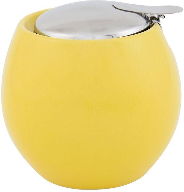 Сахарница Elan Gallery, цвет: желтый, 500 мл115510Сахарница - необходимая вещь в каждом доме. К выбору сахарницы надо подойти внимательно. Дизайн удовлетворит любой взыскательный вкус. Изделие имеет подарочную упаковку, идеальный выбор для подарка.Объем сахарницы: 500 мл. Размер сахарница: 10,5 х 10,5 х 9,5 см.