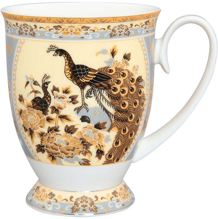 Кружка Elan Gallery Павлин на бежевом, 300 млVT-1520(SR)Кружка классической формы с удобной ручкой выполнена из высококачественной керамики. Подходят для любых горячих и холодных напитков, чая, кофе, какао. Изделие имеет подарочную упаковку, поэтому станет желанным подарком для любимого человека и друга! Объём кружки: 300 мл.
