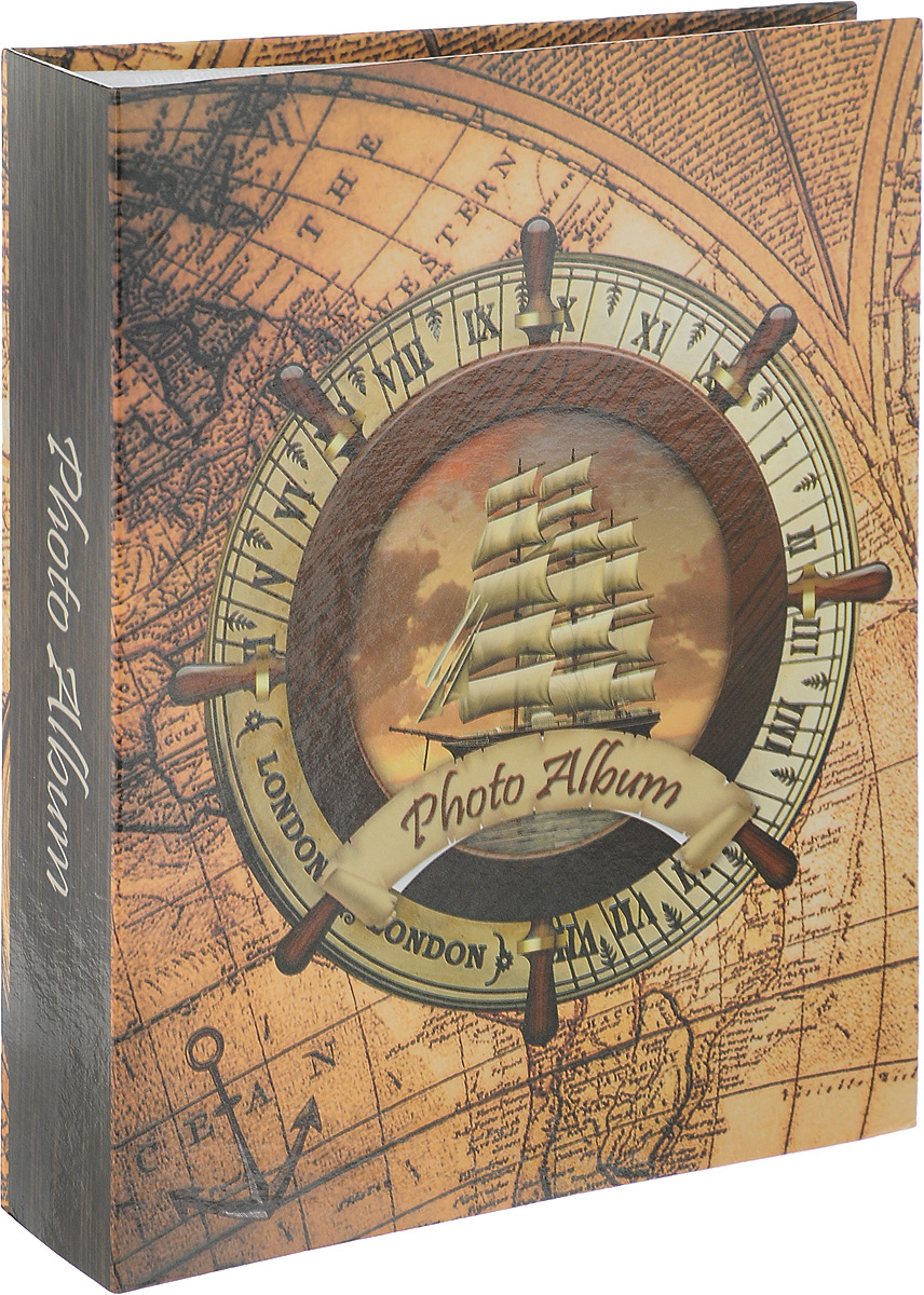 Фотоальбом Pioneer Rose Wind. Корабль, 200 фотографий, 10 х 15 см12723Фотоальбом Pioneer Rose Wind поможет красиво оформить ваши самые интересные фотографии. Обложка, выполненная из толстого картона, декорирована рисунком в морской тематике. Внутри содержится блок из 100 белых листов с фиксаторами-окошками из полипропилена. Альбом рассчитан на 200 фотографий формата 10 х 15 см (по 2 фотографии на странице). Нам всегда так приятно вспоминать о самых счастливых моментах жизни, запечатленных на фотографиях. Поэтому фотоальбом является универсальным подарком к любому празднику.