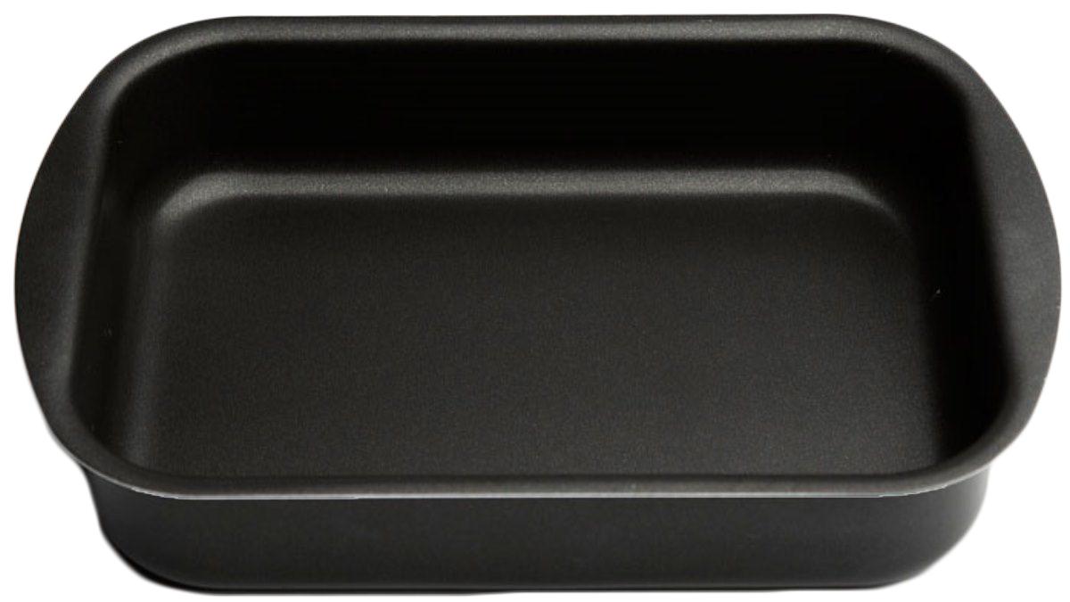 Противень Helper Comfort, с антипригарным покрытием, цвет: черный, 340 х 240 мм54 009312ПротивеньHelper Comfort изготовлен из штампованного алюминия .Благодаря удачному сочетанию функциональных свойств , противень позволяет готовить низкокалорийную пищу за счет использования минимального количества жиров.Он выполнен из алюминия, обладающего большой износостойкостью и надежностью, и не содержащего вредных для организма веществ (PFOA, кадмий, свинец). Внутреннее покрытие противня - Skandia.Технология антипригарного покрытия способствует оптимальному распределению тепла.Противень легко чистить и мыть.Подходит для использования в духовом шкафу, а также для мытья в посудомоечной машине.