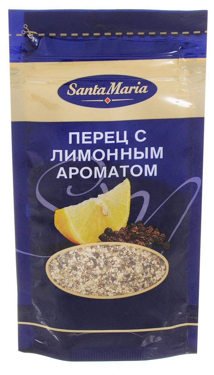 Santa Maria Перец с лимонным ароматом, 25 г0120710Приправа с насыщенным вкусом черного перца и лимона. Подходит для приготовления рыбных, мясных, сырных и вегетарианских блюд, а также салатных соусов.Уважаемые клиенты! Обращаем ваше внимание, что полный перечень состава продукта представлен на дополнительном изображении.