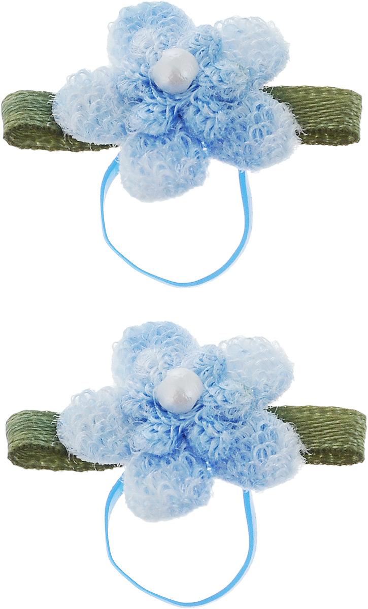 Резинка для животных Каскад Цветочки, цвет: голубой, зеленый, 2,5 х 1,5 см, 2 шт48302313_сиреневый, красныйРезинка для животных Каскад Цветочки - это красивое и стильное украшение для собак мелких пород и других животных. Изделия выполнены из тканей различных структур, плотности и фактуры и латексной резинки.Размер: 2,5 х 1,5 см.