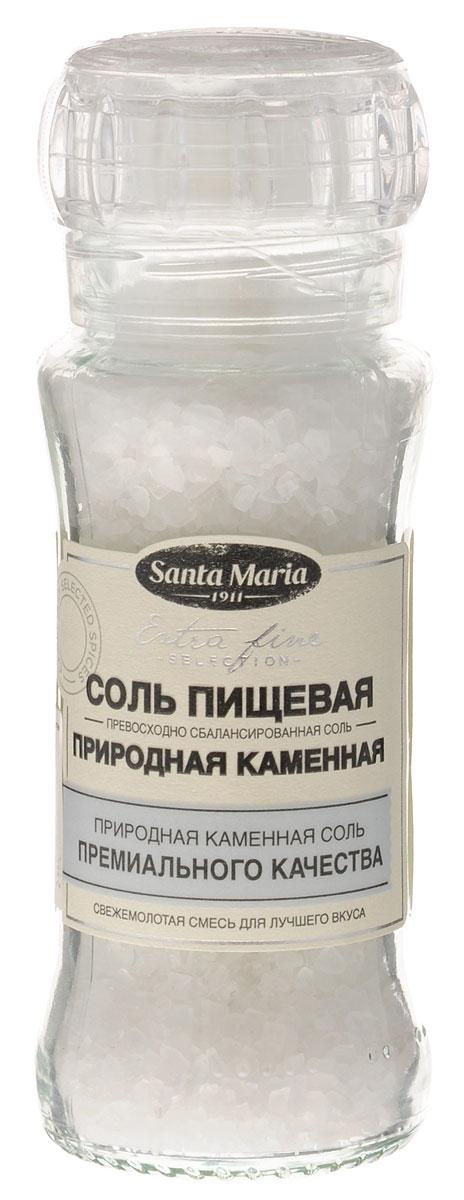 Santa Maria Соль пищевая (природная каменная), 140 гбси070Природная каменная соль имеет мягкий соленый вкус. Соль прекрасно подходит ко всем блюдам – к мясу, рыбе, овощам, супам или бульонам. Упаковка может иметь несколько видов дизайна. Поставка осуществляется взависимости от наличия на складе.