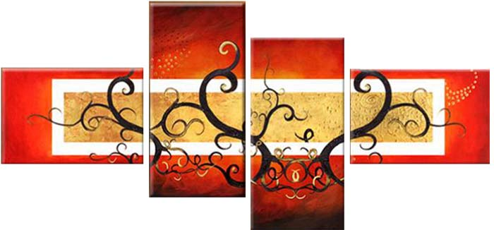 Картина Арт78 Ветви, модульная, 180 х 120 см. арт780050D_015Ничто так не облагораживает интерьер, как хорошая картина. Особенную атмосферу создаст крупное художественное полотно, размеры которого более метра. Подобные произведения искусства, выполненные в традиционной технике (холст, масляные краски), чрезвычайно капризны: требуют сложного ухода, регулярной реставрации, особого микроклимата – поэтому они просто не могут существовать в условиях обычной городской квартиры или загородного коттеджа, и требуют больших затрат. Данное полотно идеально приспособлено для создания изысканной обстановки именно у Вас. Это полотно создано с использованием как традиционных натуральных материалов (холст, подрамник - сосна), так и материалов нового поколения – краски, фактурный гель (придающий картине внешний вид масляной живописи, и защищающий ее от внешнего воздействия). Благодаря такой композиции, картина выглядит абсолютно естественно, и отличить ее от традиционной техники может только специалист. Но при этом изображение отлично смотрится с любого расстояния, под любым углом и при любом освещении. Картина не выцветает, хорошо переносит даже повышенный уровень влажности. При необходимости ее можно протереть сухой салфеткой из мягкой ткани.