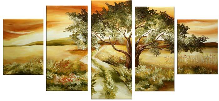 Картина Арт78 Степь, модульная, 200 х 120 см. арт780063М004Ничто так не облагораживает интерьер, как хорошая картина. Особенную атмосферу создаст крупное художественное полотно, размеры которого более метра. Подобные произведения искусства, выполненные в традиционной технике (холст, масляные краски), чрезвычайно капризны: требуют сложного ухода, регулярной реставрации, особого микроклимата – поэтому они просто не могут существовать в условиях обычной городской квартиры или загородного коттеджа, и требуют больших затрат. Данное полотно идеально приспособлено для создания изысканной обстановки именно у Вас. Это полотно создано с использованием как традиционных натуральных материалов (холст, подрамник - сосна), так и материалов нового поколения – краски, фактурный гель (придающий картине внешний вид масляной живописи, и защищающий ее от внешнего воздействия). Благодаря такой композиции, картина выглядит абсолютно естественно, и отличить ее от традиционной техники может только специалист. Но при этом изображение отлично смотрится с любого расстояния, под любым углом и при любом освещении. Картина не выцветает, хорошо переносит даже повышенный уровень влажности. При необходимости ее можно протереть сухой салфеткой из мягкой ткани.