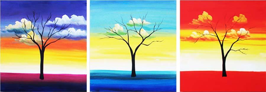 Картина Арт78 Погода, модульная, 210 х 70 см. арт780094V-052Ничто так не облагораживает интерьер, как хорошая картина. Особенную атмосферу создаст крупное художественное полотно, размеры которого более метра. Подобные произведения искусства, выполненные в традиционной технике (холст, масляные краски), чрезвычайно капризны: требуют сложного ухода, регулярной реставрации, особого микроклимата – поэтому они просто не могут существовать в условиях обычной городской квартиры или загородного коттеджа, и требуют больших затрат. Данное полотно идеально приспособлено для создания изысканной обстановки именно у Вас. Это полотно создано с использованием как традиционных натуральных материалов (холст, подрамник - сосна), так и материалов нового поколения – краски, фактурный гель (придающий картине внешний вид масляной живописи, и защищающий ее от внешнего воздействия). Благодаря такой композиции, картина выглядит абсолютно естественно, и отличить ее от традиционной техники может только специалист. Но при этом изображение отлично смотрится с любого расстояния, под любым углом и при любом освещении. Картина не выцветает, хорошо переносит даже повышенный уровень влажности. При необходимости ее можно протереть сухой салфеткой из мягкой ткани.