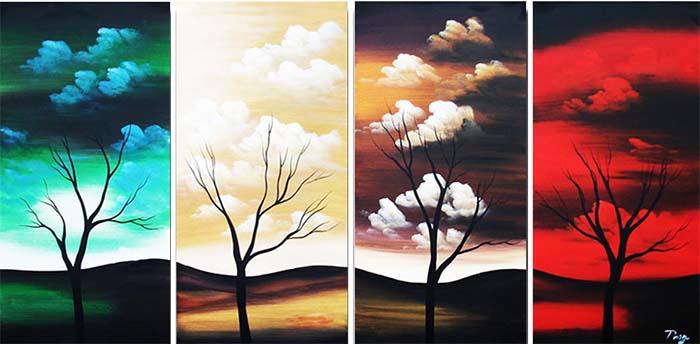 Картина Арт78 Рассвет меняет закат, модульная, 200 х 100 см. арт780095арт780082-2Ничто так не облагораживает интерьер, как хорошая картина. Особенную атмосферу создаст крупное художественное полотно, размеры которого более метра. Подобные произведения искусства, выполненные в традиционной технике (холст, масляные краски), чрезвычайно капризны: требуют сложного ухода, регулярной реставрации, особого микроклимата – поэтому они просто не могут существовать в условиях обычной городской квартиры или загородного коттеджа, и требуют больших затрат. Данное полотно идеально приспособлено для создания изысканной обстановки именно у Вас. Это полотно создано с использованием как традиционных натуральных материалов (холст, подрамник - сосна), так и материалов нового поколения – краски, фактурный гель (придающий картине внешний вид масляной живописи, и защищающий ее от внешнего воздействия). Благодаря такой композиции, картина выглядит абсолютно естественно, и отличить ее от традиционной техники может только специалист. Но при этом изображение отлично смотрится с любого расстояния, под любым углом и при любом освещении. Картина не выцветает, хорошо переносит даже повышенный уровень влажности. При необходимости ее можно протереть сухой салфеткой из мягкой ткани.