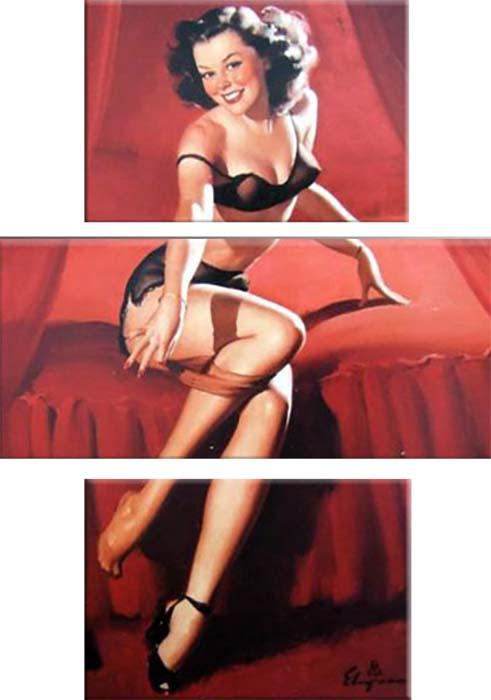 Картина Арт78 Кокетка, модульная, 110 х 180 см. арт780104арт780075-2Ничто так не облагораживает интерьер, как хорошая картина. Особенную атмосферу создаст крупное художественное полотно, размеры которого более метра. Подобные произведения искусства, выполненные в традиционной технике (холст, масляные краски), чрезвычайно капризны: требуют сложного ухода, регулярной реставрации, особого микроклимата – поэтому они просто не могут существовать в условиях обычной городской квартиры или загородного коттеджа, и требуют больших затрат. Данное полотно идеально приспособлено для создания изысканной обстановки именно у Вас. Это полотно создано с использованием как традиционных натуральных материалов (холст, подрамник - сосна), так и материалов нового поколения – краски, фактурный гель (придающий картине внешний вид масляной живописи, и защищающий ее от внешнего воздействия). Благодаря такой композиции, картина выглядит абсолютно естественно, и отличить ее от традиционной техники может только специалист. Но при этом изображение отлично смотрится с любого расстояния, под любым углом и при любом освещении. Картина не выцветает, хорошо переносит даже повышенный уровень влажности. При необходимости ее можно протереть сухой салфеткой из мягкой ткани.