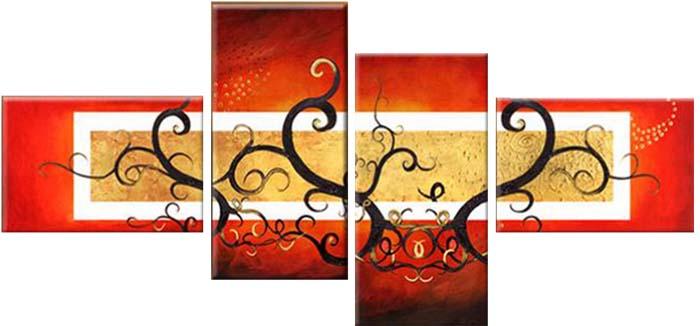 Картина Арт78 Ветви, модульная, 135 х 90 см. арт780050-2С_042Ничто так не облагораживает интерьер, как хорошая картина. Особенную атмосферу создаст крупное художественное полотно, размеры которого более метра. Подобные произведения искусства, выполненные в традиционной технике (холст, масляные краски), чрезвычайно капризны: требуют сложного ухода, регулярной реставрации, особого микроклимата – поэтому они просто не могут существовать в условиях обычной городской квартиры или загородного коттеджа, и требуют больших затрат. Данное полотно идеально приспособлено для создания изысканной обстановки именно у Вас. Это полотно создано с использованием как традиционных натуральных материалов (холст, подрамник - сосна), так и материалов нового поколения – краски, фактурный гель (придающий картине внешний вид масляной живописи, и защищающий ее от внешнего воздействия). Благодаря такой композиции, картина выглядит абсолютно естественно, и отличить ее от традиционной техники может только специалист. Но при этом изображение отлично смотрится с любого расстояния, под любым углом и при любом освещении. Картина не выцветает, хорошо переносит даже повышенный уровень влажности. При необходимости ее можно протереть сухой салфеткой из мягкой ткани.